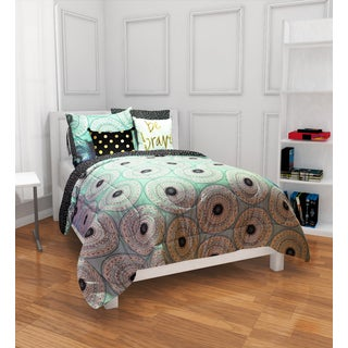 Formula Whitney Mint 9-piece Bed in a Bag with Sheet Set