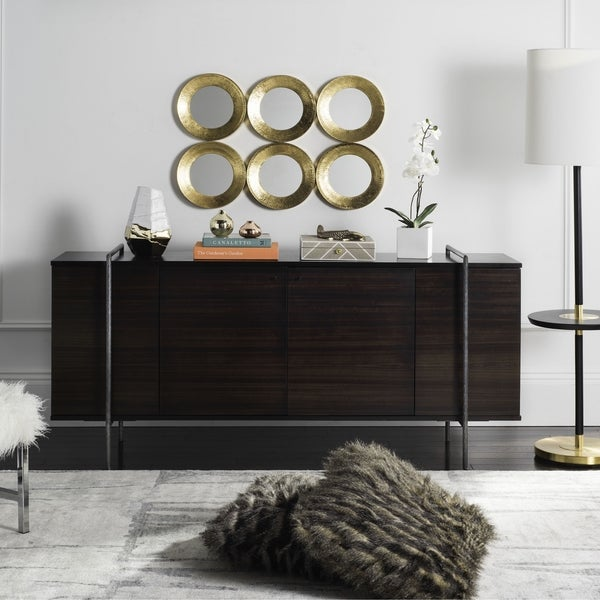 Safavieh Couture High Line Collection Baxton Wood Accent Storage Cabinet
