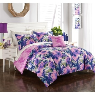 Formula May Flowers 8-piece Bed in a Bag with Sheet Set