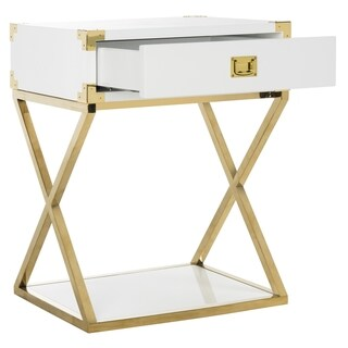 Safavieh Couture High Line Collection Modern Contemporary Aisa Lacquer Accent Table