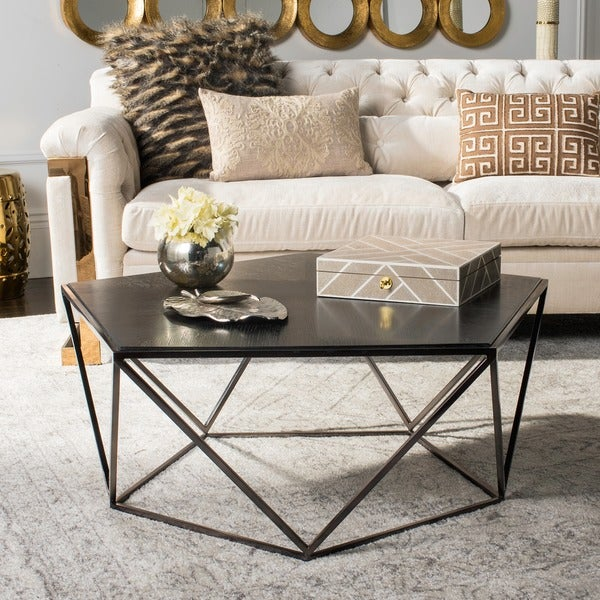 Safavieh Couture High Line Collection Alba Geometric Coffee Table
