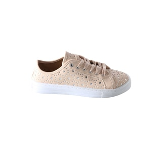 Hadari Women's Laser Cut Out Sneaker