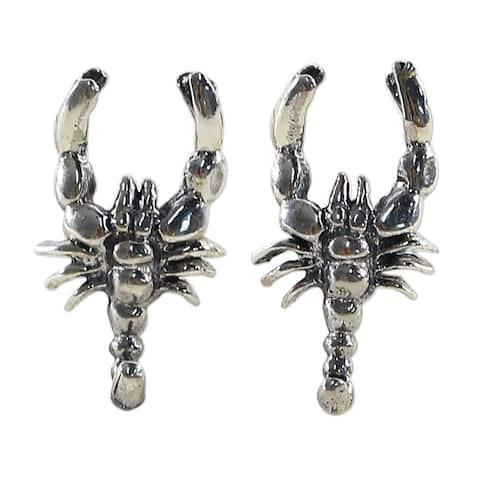 Sterling Silver 'Little Scorpions' Earrings