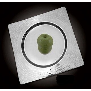 Heim Concept Square Hammered Charger Plate