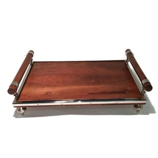 Elegance Rectangular Tray - Wood