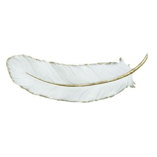 Benzara White Polystone 23-inch Wide x 7-inch High Wall Decor
