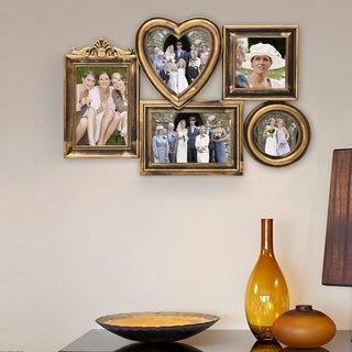 Adeco Plastic 5-photo Frame