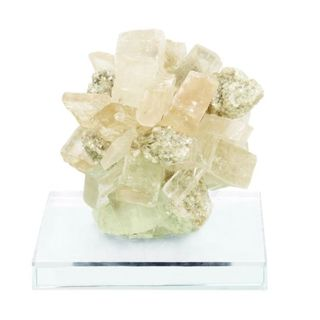 The Curated Nomad Bannister Calcite Glass Gem Sculpture