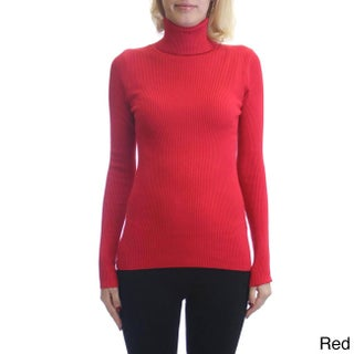 Dinamit Fashion Women's Cotton and Lycra Turtleneck Pullover Sweater (More options available)