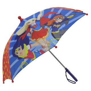 DC Comics Superhero Girl's Red Umbrella