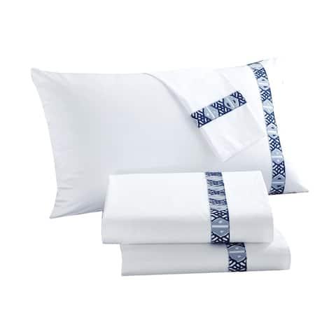 LUX-BED 4-Piece Pearce Garden Bed Sheet Set