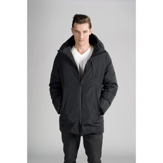 Orobos Men's Bonded Seam Moto Down Coat