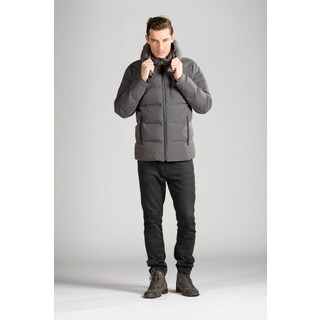 Orobos Men's Bonded Seam Moto Down Jacket
