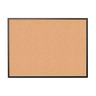 U Brands Black Aluminum Frame 47 x 35-inch Cork Bulletin Board
