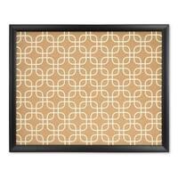 U Brands Black Wood Frame, Fashion Design Print 20 x 16-inch Cork Bulletin Board