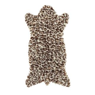 Persian Rugs Shaggy Animal Print and Shaped Area Rug (32 x 60)