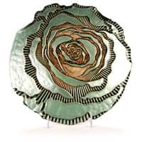 Rose Side Plate Cream Gold
