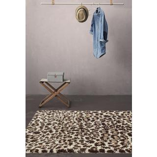 Persian Rugs Shaggy Animal Print Accent Rug (2'0x3'0)