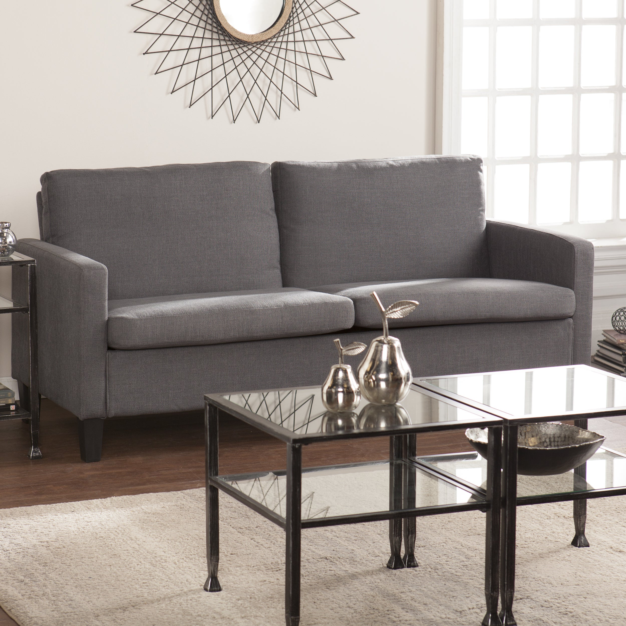 Harper Blvd Alvarez Small Space Sofa - Gray (OS3989PU), G...