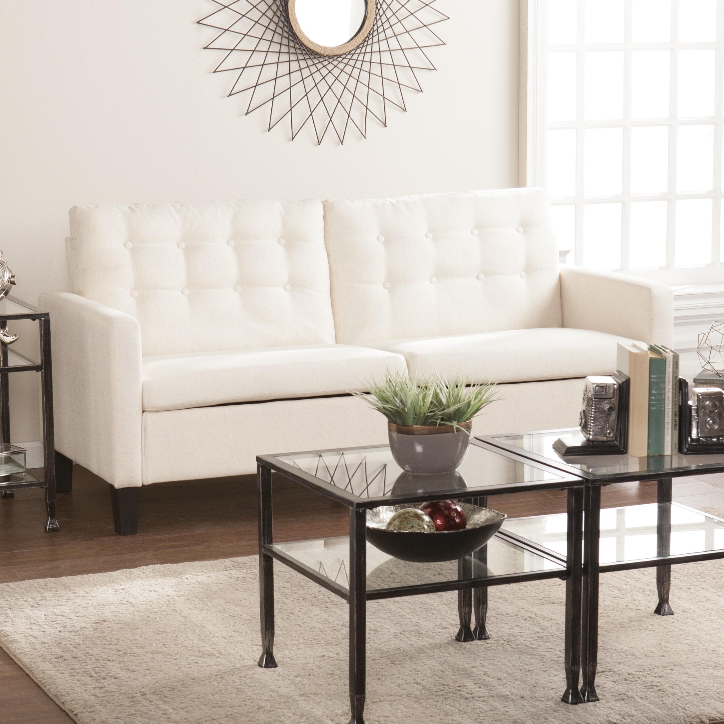 Harper Blvd Manchester Midcentury Modern Sofa - Oatmeal (...