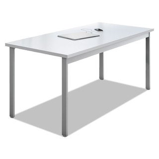 Mayline e5 Series Desk 60-inch wide x 24-inch deep x 29 1/2h Designer White