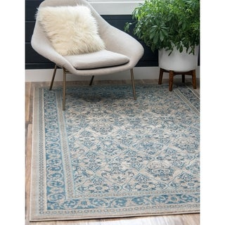 Traditional Vienna Cotton, Polypropylene Rug (6' x 9')