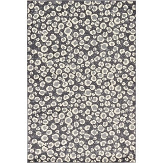 Leopard Safari Cotton, Polypropylene Rug (6' x 9')