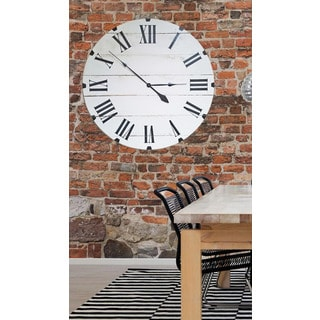 Oversized White 36 Inch Classic Wall Clock