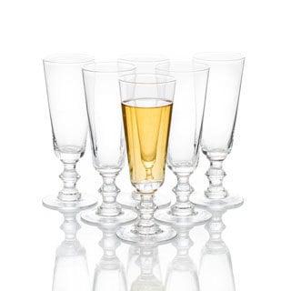 Caravan Lafayette Clear Glass Stemware (Pack of 6)