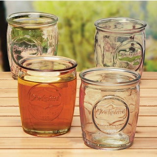 Yorkshire 4-Piece 14 Oz Whiskey Glasses Set