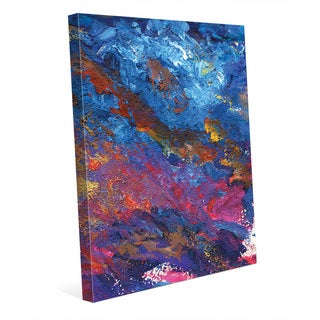 'Collina Magenta' Canvas Print Wall Art