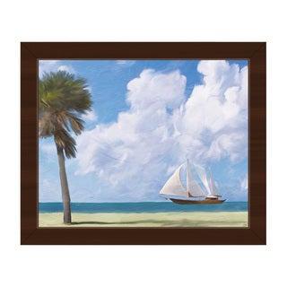 'Tallship' Framed Canvas Wall Art