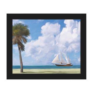 'Tallship' Canvas Framed Wall Art