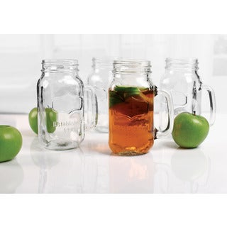 Yorkshire 4-Piece 24 Oz Mason Jar Mug Set