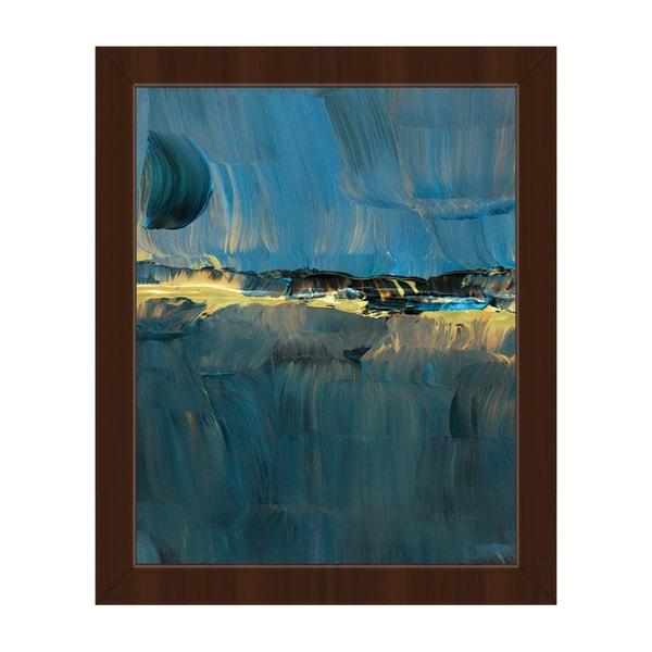 Ogo Abstract Framed Canvas Wall Art Print