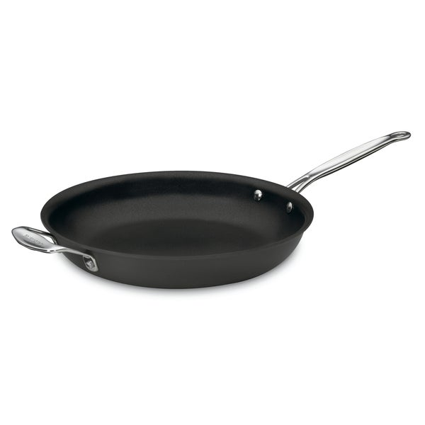 Cuisinart 622-30H Chef's Classic Non-Stick Hard Anodized 12-Inch Open Skillet with Helper Handle. Opens flyout.