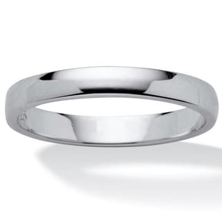 Sterling-silver Thin 2.5-mm Wedding Band