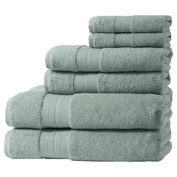 Home Fashion Designs Geneva Collection 6-Piece Turkish Cotton Towel Set