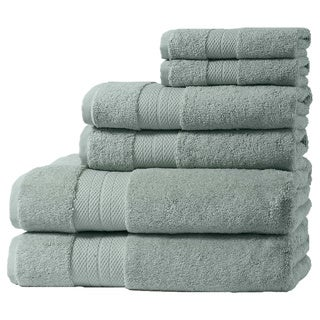 Home Fashion Designs Geneva Collection 6-Piece Turkish Cotton Towel Set