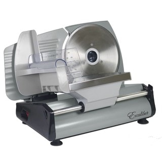 Excalibur 7.5-inch Household Meat Slicer with Smooth German Blade