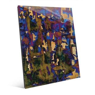 'Mabimba' Multicolored Acrylic Wall Art Print