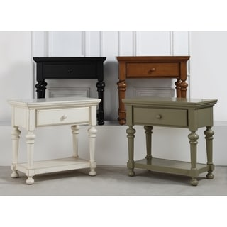 Link to Ansley Nightstand by Greyson Living Similar Items in Bedroom Furniture
