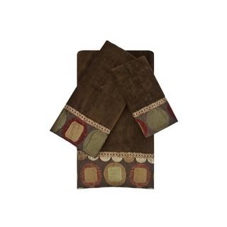Sherry Kline Metro Spice 3-piece Embellished Towel Set