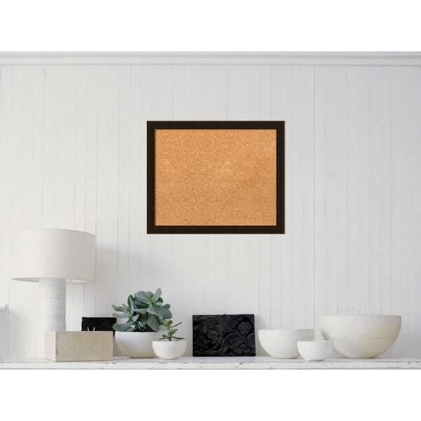 Framed Cork Board Choose Your Custom Size Portico