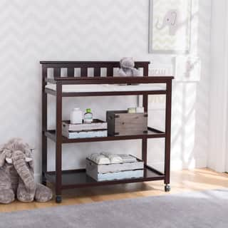 Delta Children Flat Top Changing Table with Casters, Dark Chocolate|https://ak1.ostkcdn.com/images/products/14154855/P20756630.jpg?impolicy=medium