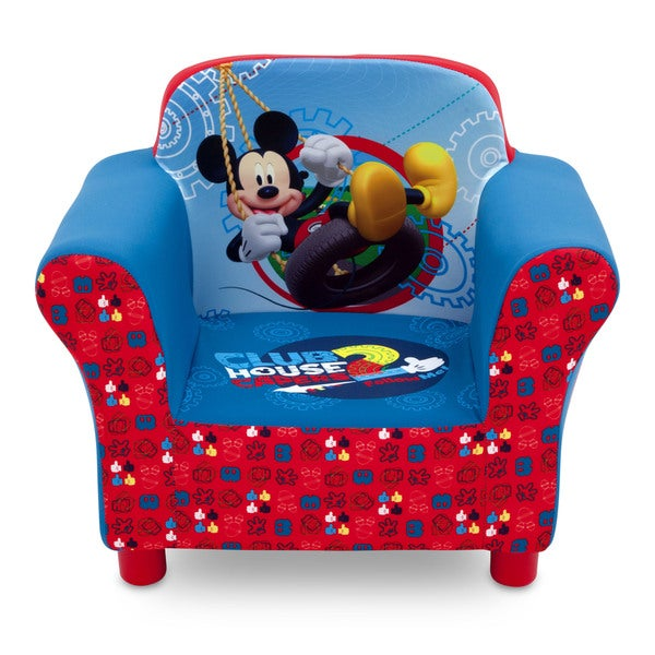 Disney Mickey Mouse Upholstered Chair Free Shipping