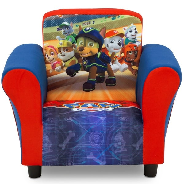 Shop Nick Jr Paw Patrol Upholstered Chair Ships To Canada