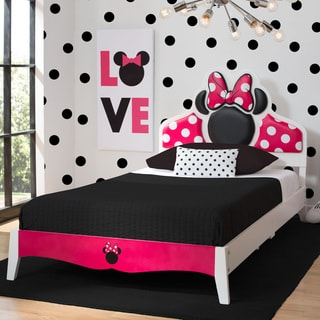 Disney Minnie Mouse Wood Twin Bed