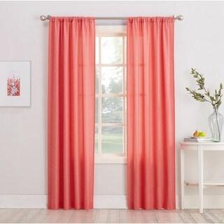 No. 918 Maddie Sheer Rod Pocket Curtain Panel