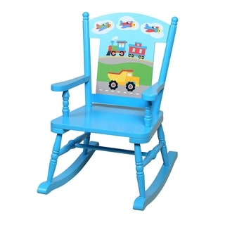 Olive Kids Trains, Planes, Trucks Rocking Chair
